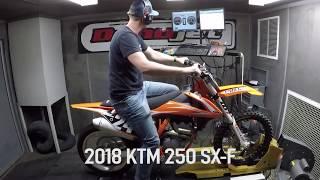 8. KTM 250 SX F Dyno