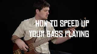 "BECOME A PATRON: http://patreon.com/joshfossgreenIf you've ever watched a bass lesson video or taken a private lesson, you've probably been told to ""start slow and work up your speed with a metronome"" at some point. In this lesson I'll try to demonstrate how I actually do that personally on-camera, to take some of the mystery out the process.Working up speed is a nuanced process, and the ""best"" way to do it depends a lot on the material and your experience level. There's no set method you must use, or rate at which you must progress. The main organizing principles I use are to establish a (slow) baseline tempo where I can play whatever I'm working on really well, and then creep up from there, trying to find the right amount of difficulty where it's not too easy, but I'm not constantly struggling and failing.I hope this little window into my practicing helps you with yours! And LOL ignore the title screen, I didn't change the text from the last lesson!Check out my complete step-by-step beginner course: http://joshfossgreen.com/b2bJosh Fossgreen is endorsed by TC Electronic and Hipshothttp://tcelectronic.com/http://www.hipshotproducts.com/"