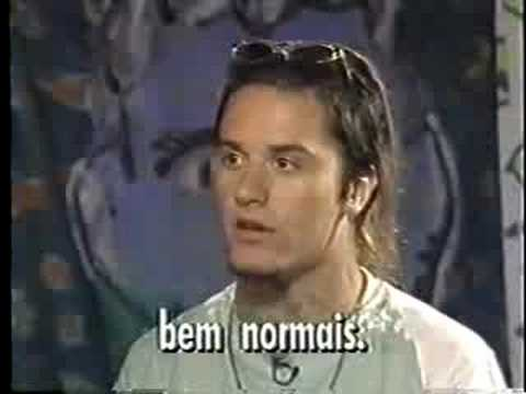 Faith No More - Mike Patton Interview In Brazil 1991 (PT 3)