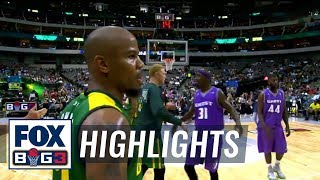 Ghost Ballers vs Ball Hogs | BIG3 HIGHLIGHTS by FOX Sports