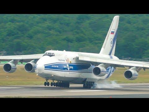 Last weekend an Antonov An-124...