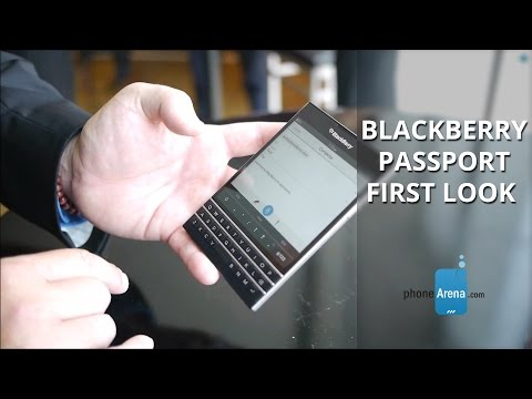 BlackBerry Passport first look