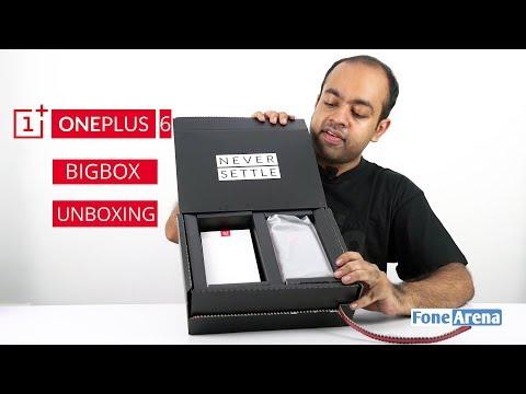 OnePlus 6 Big Box Unboxing
