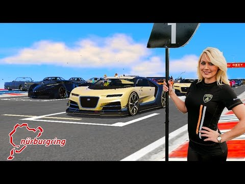 The Nürburgring: Real Life Racing - Best Tracks In The World (GTA 5 )
