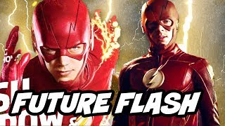 The Flash Season 4 New Flash Suit Preview
