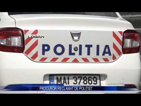 PROCUROR RECLAMAT DE POLIȚIST