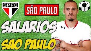 SALÁRIOS JOGADORES DO TRICOLOR PAULISTA. Os Salários dos Jogadores do São Paulo 2016 - SPFC Facebook: ...