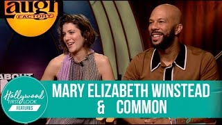 All About Nina Exclusive Interview  Mary Elizabeth Winstead   Common