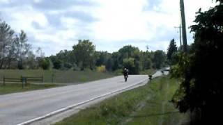 7. 2004 KTM 625 SMC LC4 Supermoto Wheelie