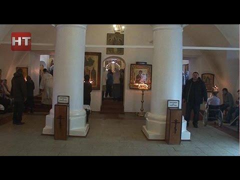 В Великом Новгороде появилась церковь, доступная для инвалидов-колясочников