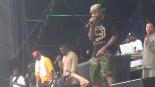 Wu Tang Clan @Ottawa Bluesfest 2013 [part 1]