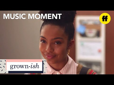 "grown-ish | season 1, episode 13: rihanna ""love on the brain"" music 