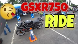 4. GSXR750 demo ride at Americade 2018 | Vlog#241