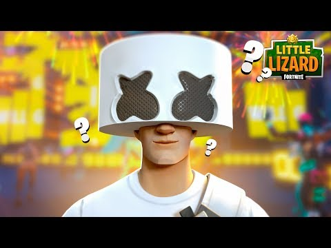 MARSHMELLO FACE REVEAL!!! - Fortnite Short Film