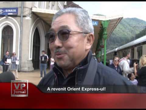 A revenit Orient Express-ul!