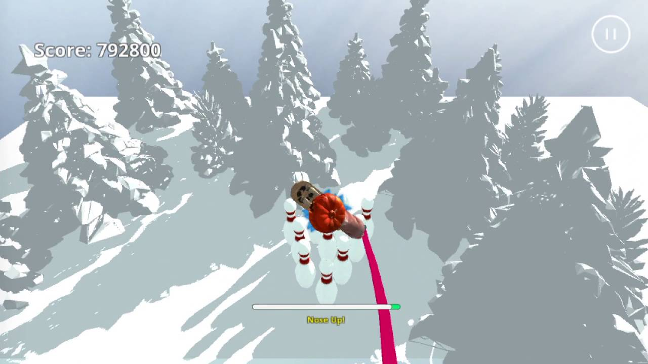 'Snow Horse' is a Game About a Horse Riding a Snowboard