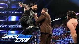 Nonton Roman Reigns decks Mr. McMahon with a Superman Punch: SmackDown LIVE, April 16, 2019 Film Subtitle Indonesia Streaming Movie Download
