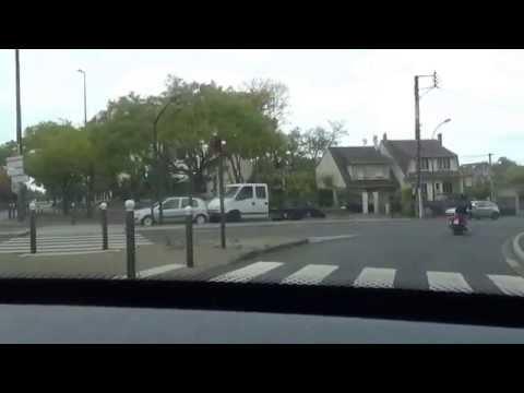 Visite des rues d'Argenteuil