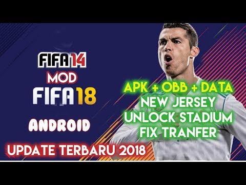 (LINK) Game Fifa 14 Android Update 2018 Terbaru Full Unlocked Indonesia (Apk + OBB + Data)