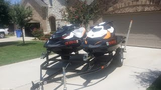 8. [UNAVAILABLE] Used 2013 Sea-Doo 2013 GTR 215 PLUS 2012 GTI 155 SE (PAIR) in Pflugerville, Texas