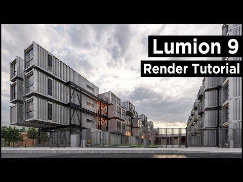 Lumion 9 Pro Architecture Rendering Tutorial