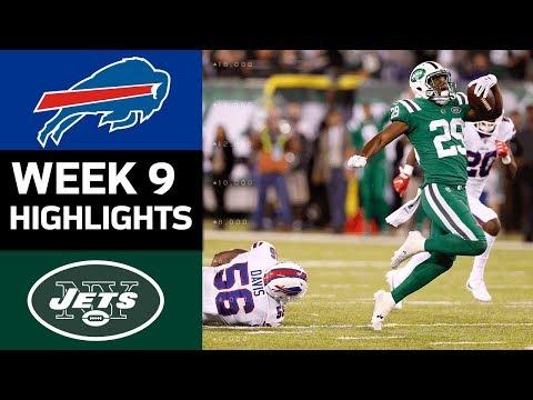 Bills vs. Jets | NFL Week 9 Game Highlights - Thời lượng: 8:31.