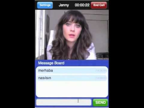 Video of B-Messenger Video Chat
