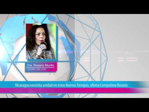Nicaragua necesita unidad en estos Nuevos Tiempos, afirma Compañera Rosario