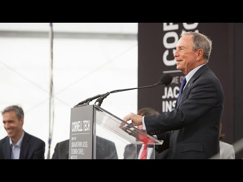$100M gift names Bloomberg Center at Cornell Tech
