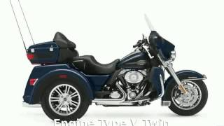 9. 2012 Harley-Davidson Trike Tri Glide Ultra Classic Features & Specification