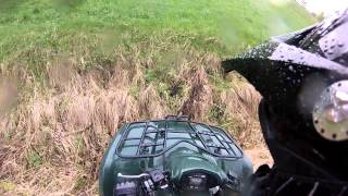 7. ATV - country trip on Kawasaki Brute Force 650, 4x4