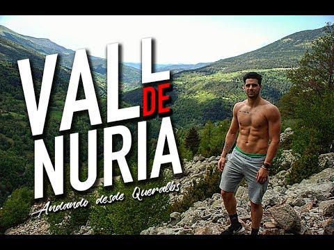 VALL DE NURIA andando desde Queralbs | Pirineo Catalán | Vuelta en Tren Cremallera 2017 (HD)