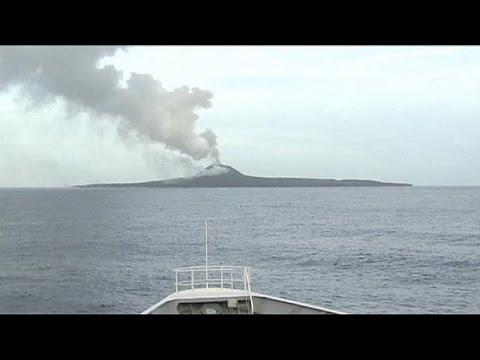 Ιαπωνία: Επιστημονική έρευνα για το νέο νησί