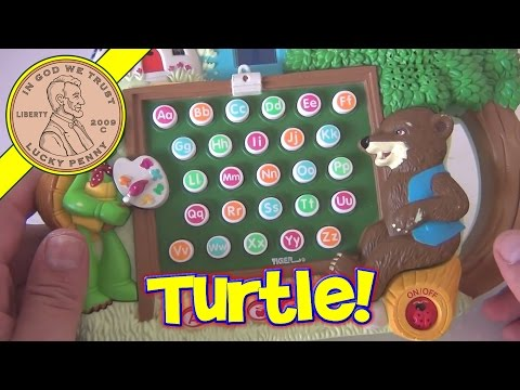 Franklin The Turtle's ABC Phonics, 2000 by Tiger Electronics
