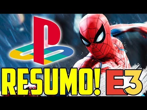 Video UM GAME MELHOR QUE O OUTRO! - RESUMO CONFERÊNCIA SONY PLAYSTATION - E3 2018 download in MP3, 3GP, MP4, WEBM, AVI, FLV January 2017