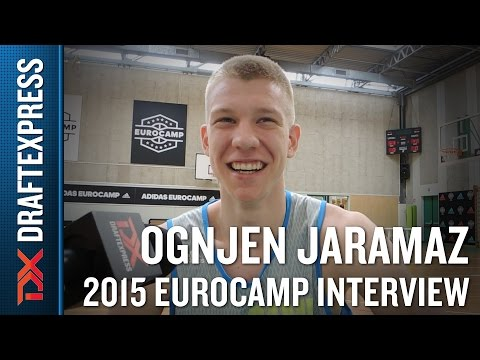 Ognjen Jaramaz Interview at the 2015 adidas EuroCamp