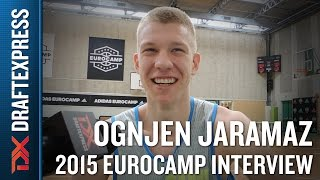 Ognjen Jaramaz Interview at the 2015 adidas EuroCamp
