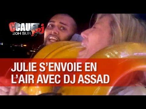 julie - Julie s'envoie en l'air avec DJ Assad ! C'Cauet sur NRJ de 20h à 23h ! Pour plus de kiff, abonne-toi ! http://www.youtube.com/subscription_center?add_user=ca...