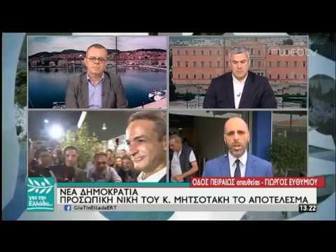 Οι αντιδράσεις των κομμάτων στα αποτελέσματα της Κάλπης για Ευρώπη και Αυτοδιοίκηση | 27/05/19| ΕΡΤ