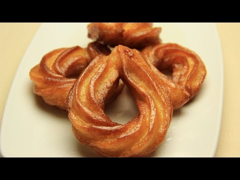 Turkish Churros Recipe – Fried Sweet Dough with Sugar Syrup