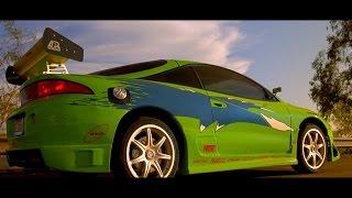 Nonton Fast & Furious (2001) - Mitsubishi Eclipse scene  