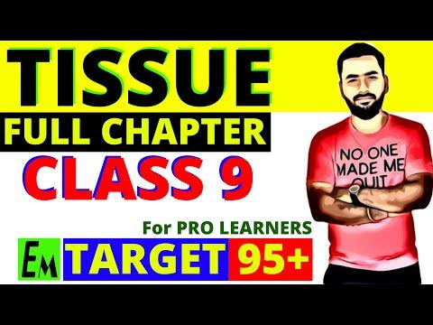 TISSUE FULL CHAPTER || CLASS 9