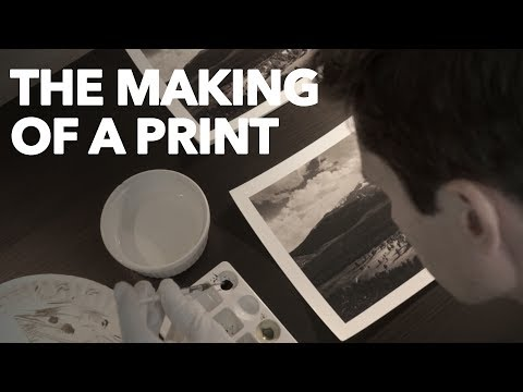 The Making Of A Print :: Long's Peak