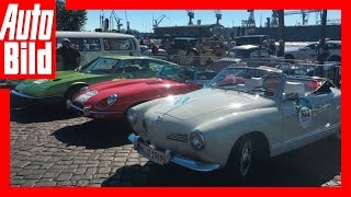 Rallye Hamburg-Berlin-Klassik 2016- 9. HBK: Jetzt geht's los! by Auto Bild