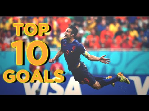 World Cup 2014 ● Top 10 Goals (HD)