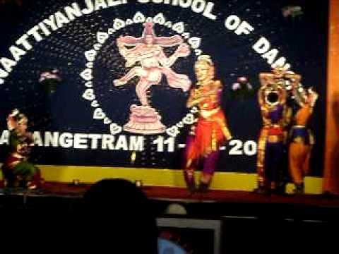 VARSHINI HIRANYAVADHAM KUCHUPUDI DANCE