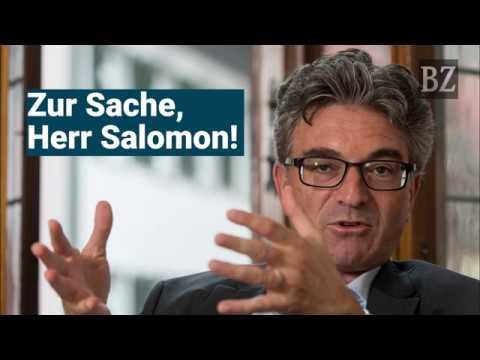 OB-Kandidaten-Verhör: Zur Sache, Herr Salomon!