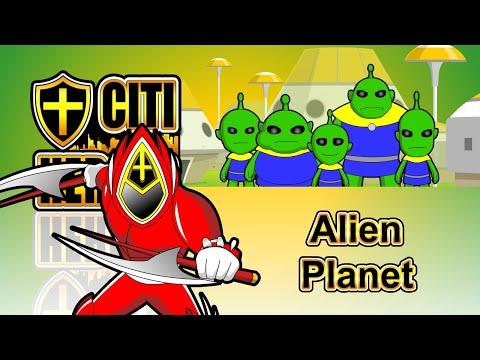 "Citi Heroes EP111 ""Alien Planet"""