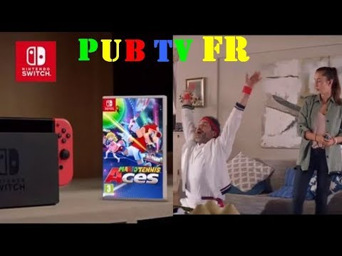 Mario Tennis ACES - pub TV FR  - DEC 2018 [French TV Commercial]