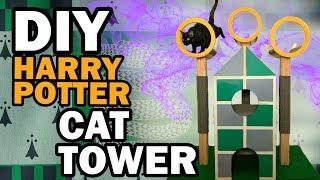 DIY Harry Potter Cat Tree - Corinne Vs Cats by ThreadBanger